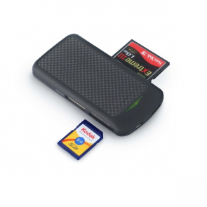 Carbon Fibre All In 1 Card Reader