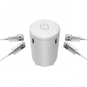 Satellite 4 Port Usb Travel Adapter