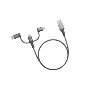 Trio USB Cable With C