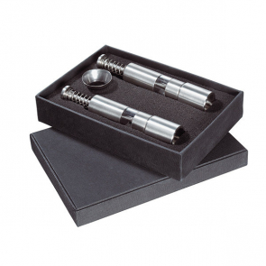 Helix Pepper And Salt Push Mill Set