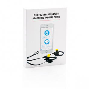 Wireless Earbuds With Heart Rate And Step Count