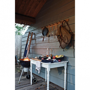 Bbq Set With Hamburger Press And Brush