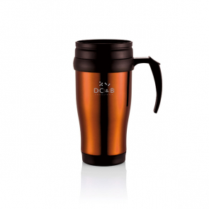 Stainless Steel Logo Travel Mug