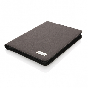 Deluxe Tech Portfolio With Zipper