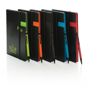 A5 Deluxe 8GB USB Notebook With Stylus Pen
