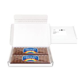 Postal Packs – Midi Postal Box - 12 Baton Bars - PAPER LABEL