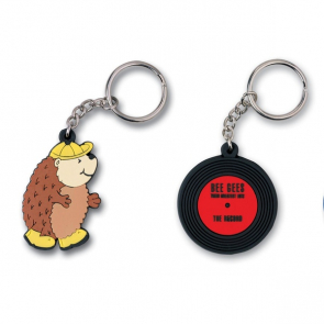 PVC Keychain/Labels/Pin Badges/Zipper Pull