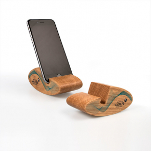 Rocking Real Wood Phone Stand