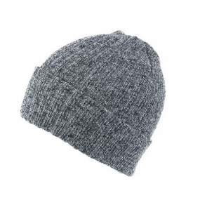 Ribbed Beanie With Turn Up