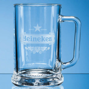 Straight Sided Beer Tankard