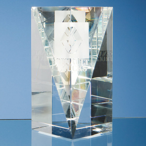 Optical Crystal Facet Rectangle Award