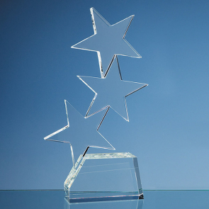 Optical Crystal Triple Rising Star Award