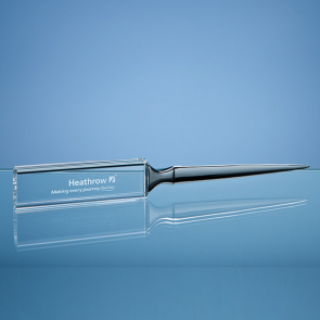 Optical Crystal Letter Opener