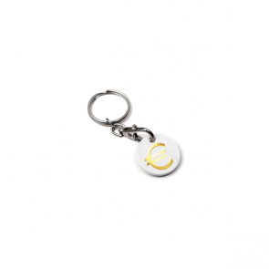 Euro Trolley Coin Keyring