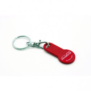 Old £ Trolley Stick Coin Keyring