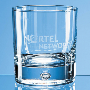 Bubble Base Whisky Tumbler