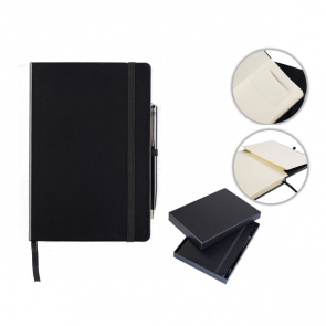 Houghton A5 Casebound Notebook with Pen & Box