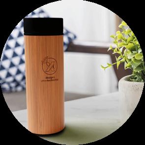 500ml Bamboo Smart Bottle
