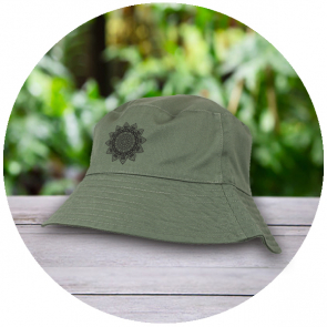 100% Washed Chino Cotton Bucket Hat with Cotton Lining