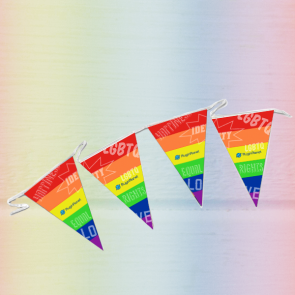 Triangular Showerproof Synthetic Bunting