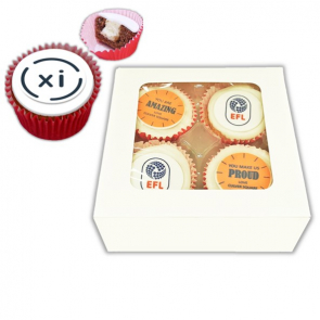 POSTAL ICED CUPCAKES - 4 Pack