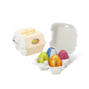 Egg Box - Gold Foiled Eggs