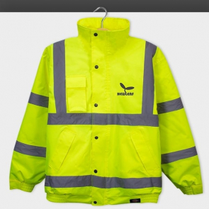 High-Visibility Bomber Jacket
