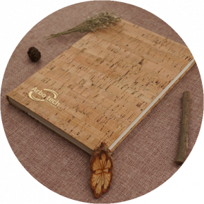 ECO A5 Natural Cork Cover Notebooks