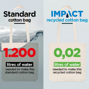 Impact AWARE™ Recycled Cotton Tote