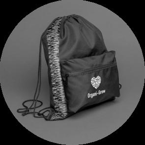 AWARE™ RPET Reflective Drawstring Backpack
