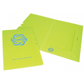 Enviro-Smart - Presentation Folder Polyprop Pop
