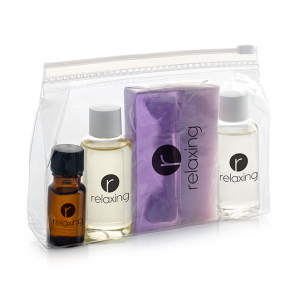 Natural Toiletry Set in an EVA Bag