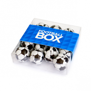 Branded Chocolate Footballs in a Box