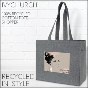 Ivychurch' Recycled Tote/Shopper Bag