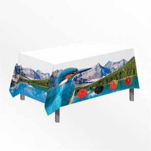 Jet Banner Table Cloth