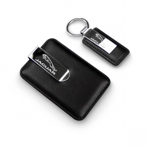 Keyring & Money Clip Credit Card Holder Set