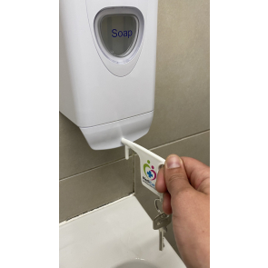 Hygiene Hook Keyring