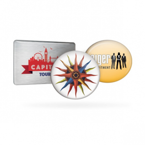 Metal Promotional Badges