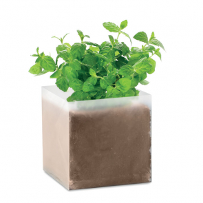 Mint Seed and Compost Bag