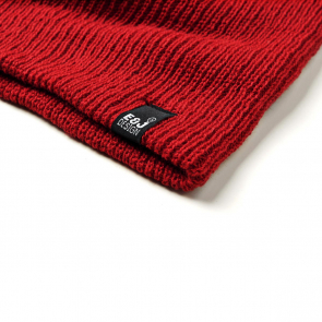 Double Layered Striped Beanie