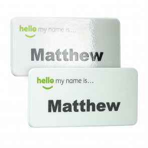 KeepSafe Eco & Antimicrobial Name Badge