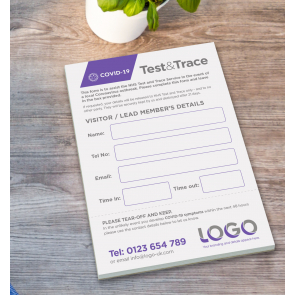 Test & Trace Pads A6