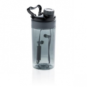 Leakproof Bottle With Wireless Earbuds 500ml