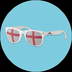 Flag Fun Sunglasses With England Lens
