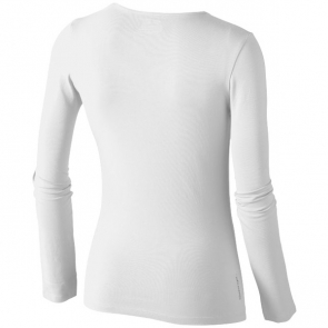 Curve Long Sleeve Ladies T-Shirt.