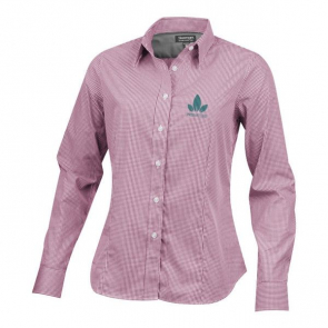 Net Long Sleeve Ladies Shirt.