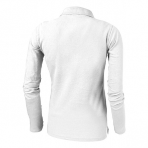 Point Long Sleeve Ladies Polo.