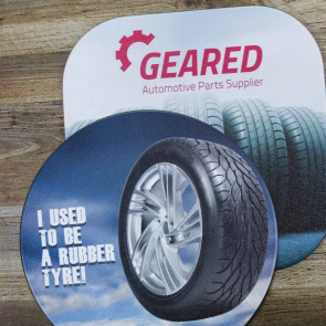 Tyre Brite-Mat® Coaster