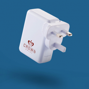 Travel Plug With 4 USB Ports