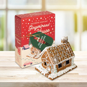 Winter Collection Gingerbread House Box - Decoration Kit!